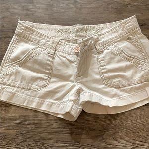 Abercrombie Khaki Cargo Shorts